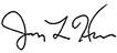 Jay Hess signature
