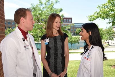 Emily Walvoord, Md Mentoring Medical Students