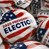 2020 Presidential Election Button