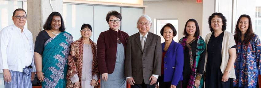 members of the Asian Pacific American Faculty and Staff Council