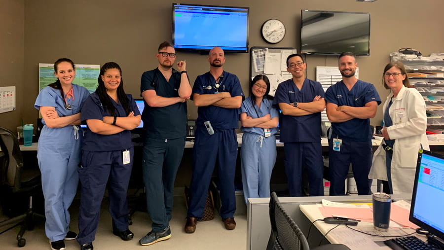 health care providers in the department of emergency medicine