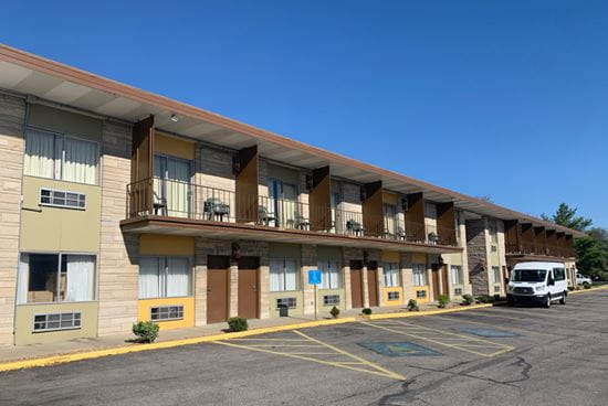 Motel turned into isolation center for the homeless in Bloomington