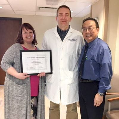 Katie Stanton, MD, Lionel Brounts, MD, and Fen-Lei Chang, PhD, MD