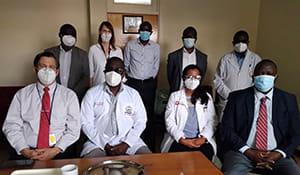 Surgery team photo from Kenya