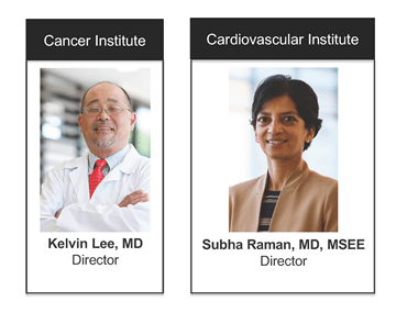 Cancer and Cardiovascular Institute leaders