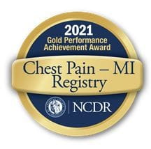Gold Chest Pain MI Registry Award