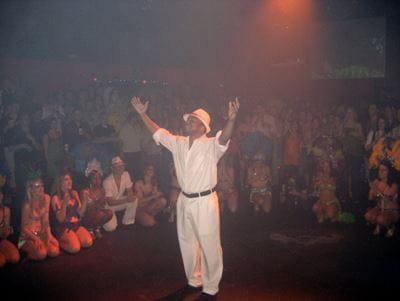 Antwione Haywood salsa dancing