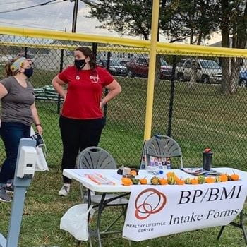 IUSM Muncie students at Healthy Lifestyle Centers event