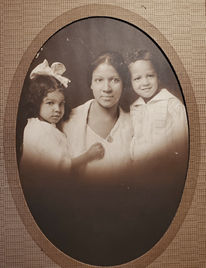 Clarence Lucas' wife and children