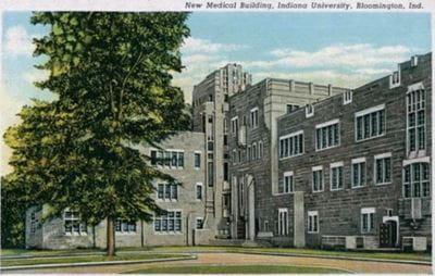 IU School of Medicine Building 1937