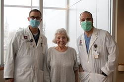 Patient at Ball Memorial Hospital underwent a brand new procedure, TAVR