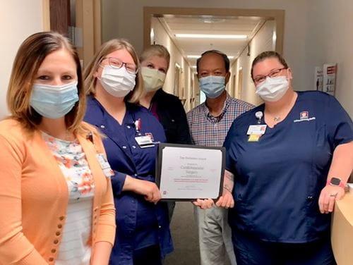 IU Health Ball CV Surgery Team