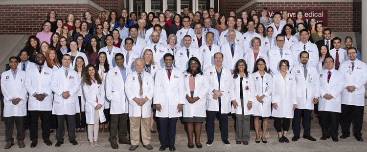 Faculty and Staff Group Photo of the Gastroenterology and Hepatology Division 2019