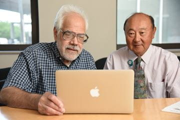Dr. David Pisoni and Dr. Richard Miyamoto.