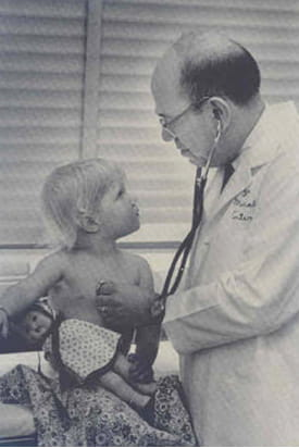 Morris Green, third chair of pediatrics