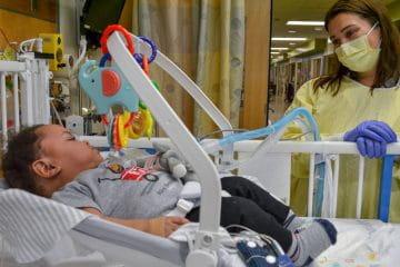 Pediatric Inpatient and Home Ventilator Program