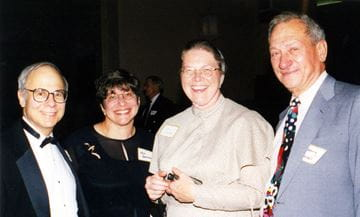 Oppenheims, Lois Shuman and Dr. Wellman