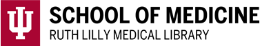 An image of Ruth Lilly Medical Library logo