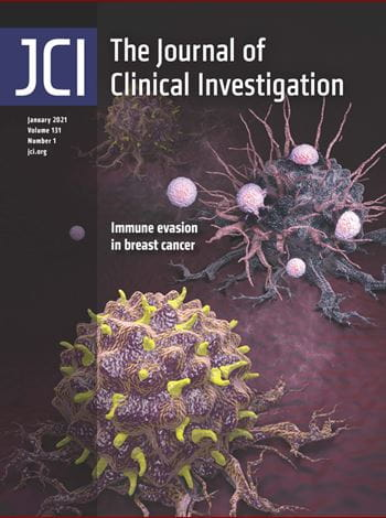 cover of the journal of clinical investigation
